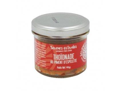 Thoionade au piment d'espelette