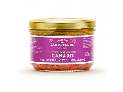 Terrine Canard Aux Pruneaux Armagnac
