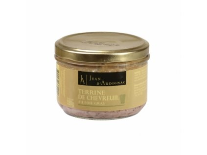 terrine chevreuil foie gras