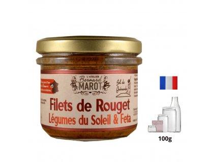 Filets de Rouget Legumes du Soleil Feta