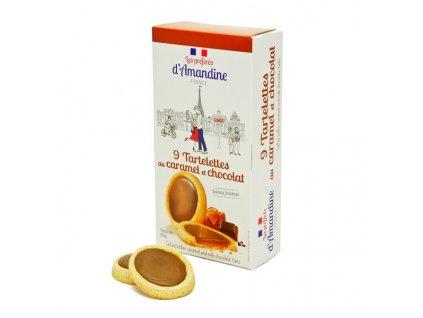 Tartelettes Chocolat Lait Caramel Beurre Sale