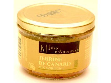 Terrine canard morilles Audignac