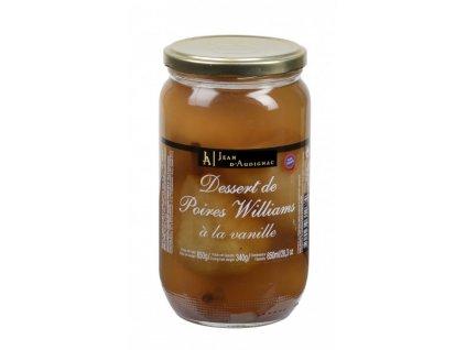poires William vanille