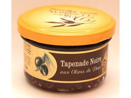 Tapenáda z černých oliv - Tapenade Noire aux Olives de Pays - 90g