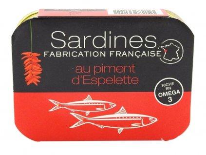 Sardines huile arachide