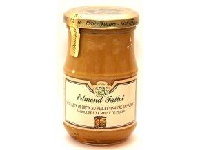 Dijonská hořčice s medem a balsamikem - Moutarde de Dijon au Miel et Balsamique- 210g
