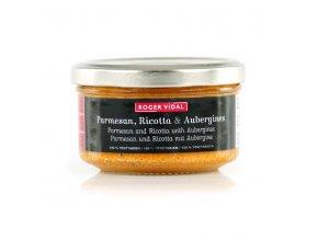 Toastine Parmesan Ricotta Aubergines