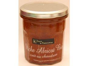 Meruňkový a broskový džem BIO - Péche abricot cuit au chaudron - 320g