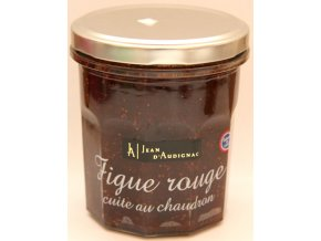 Fíkový džem - Figue rouge cuite au chaudron - 320g
