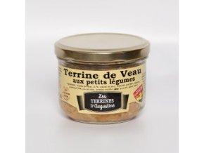 Terrine de Veau aux petits légumes 190g