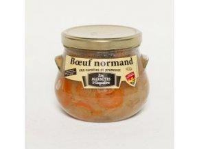 Boeuf Normand aux carottes 750g