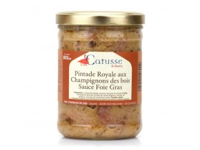 Pintade Royale Sauce Foie Gras