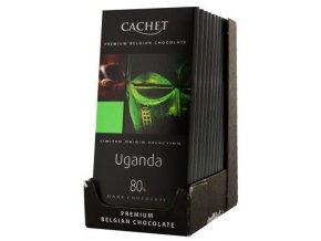 Chocolat noir Ouganda; 80% cacao