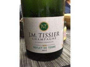 Champagne JM Tissier  Reflet de Terre brut AOP 0,75 L
