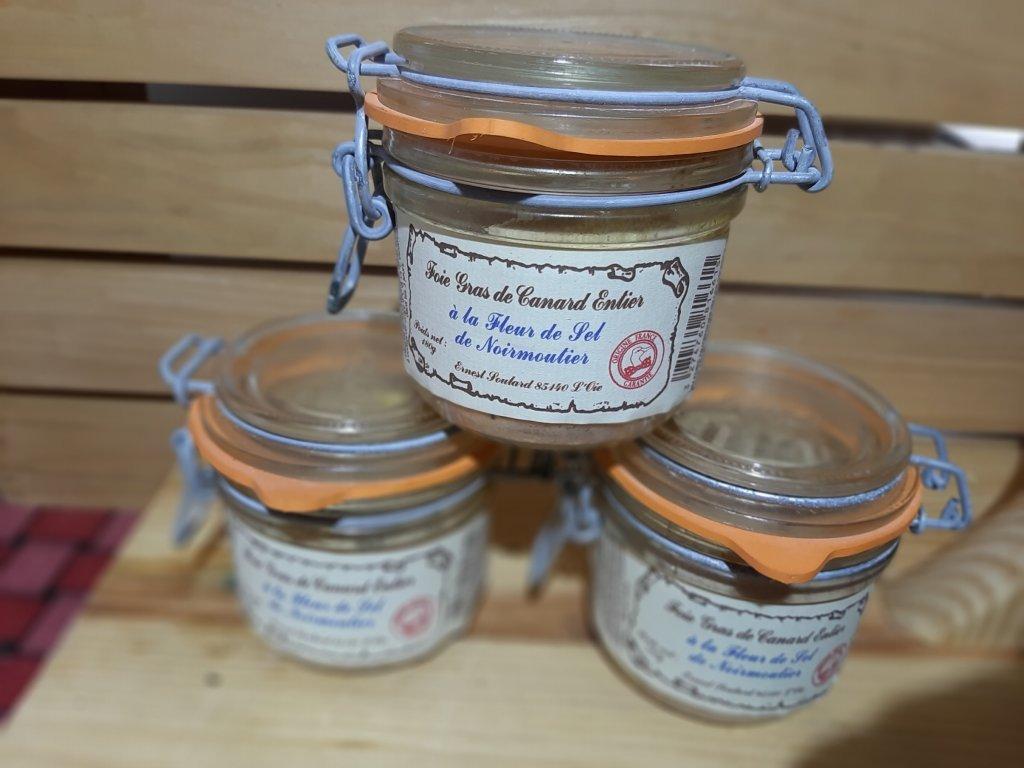 Foie gras kachní s mořskou solí