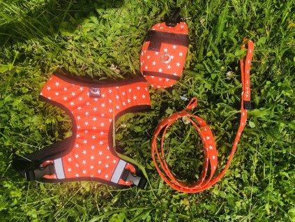 Set Hvězda oranžová