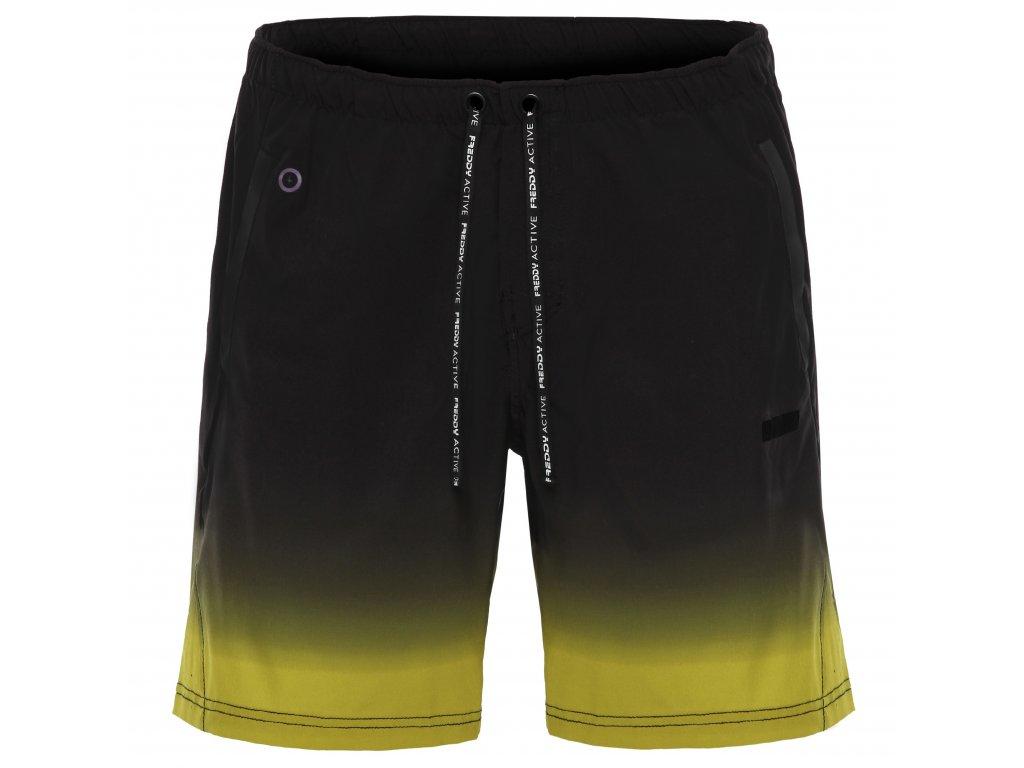 Pánské šortky Freddy žluto-černá barva - Official Freddy CZ a0645f7677