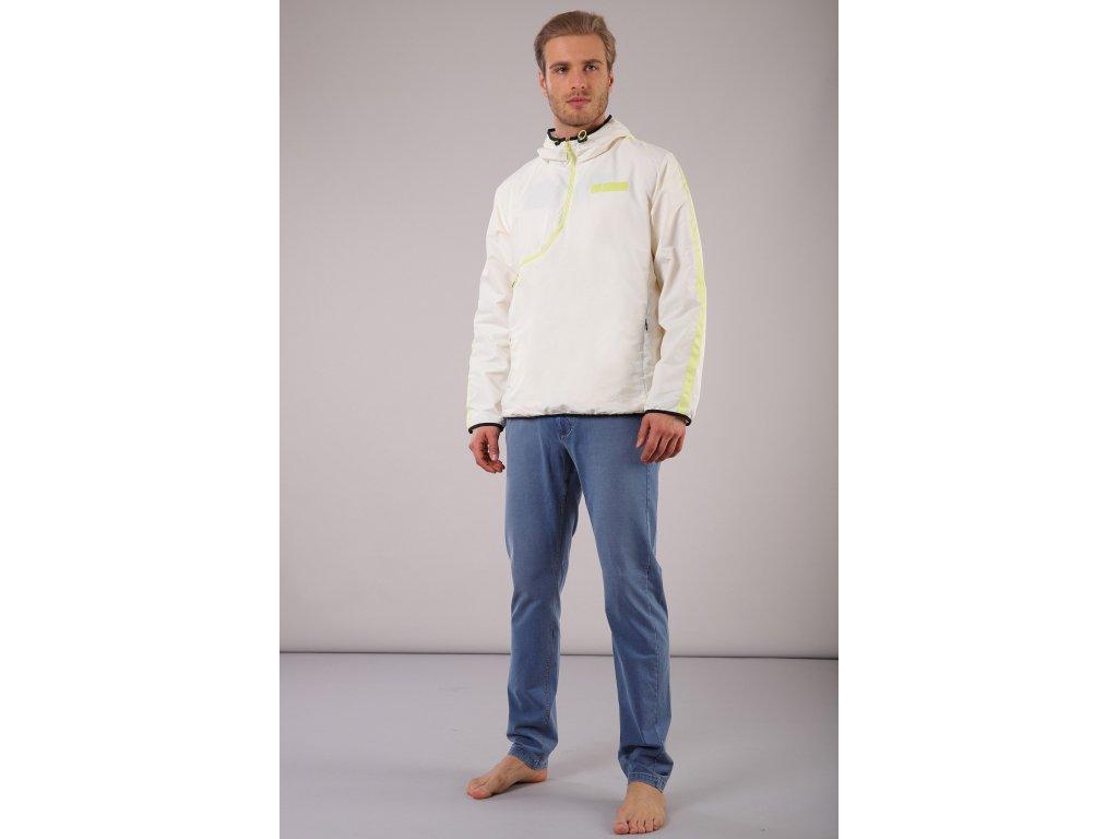Pánské Freddy kalhoty ve světle modré barvě