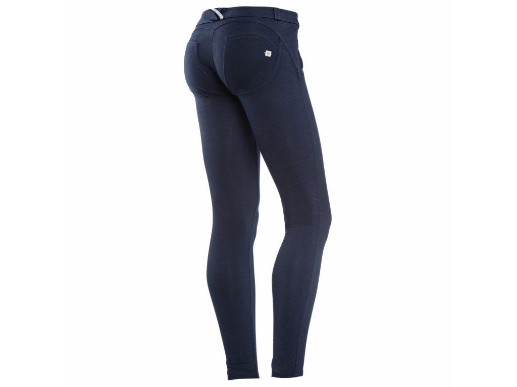 Freddy kalhoty v modré barvě, materiál kepr vpřed, bavlna vzad