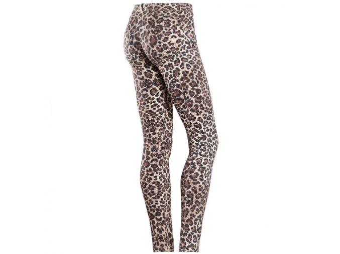 Freddy kalhoty v leopardím vzoru