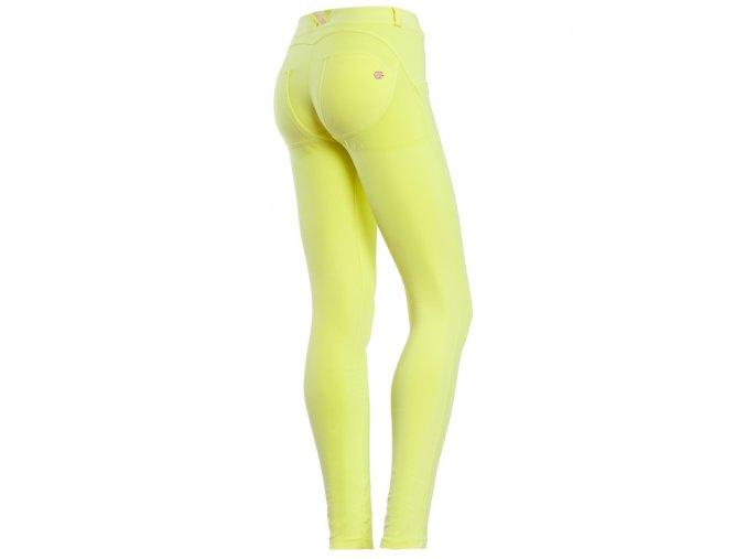 Freddy kalhoty ve žluté barvě, skinny střih