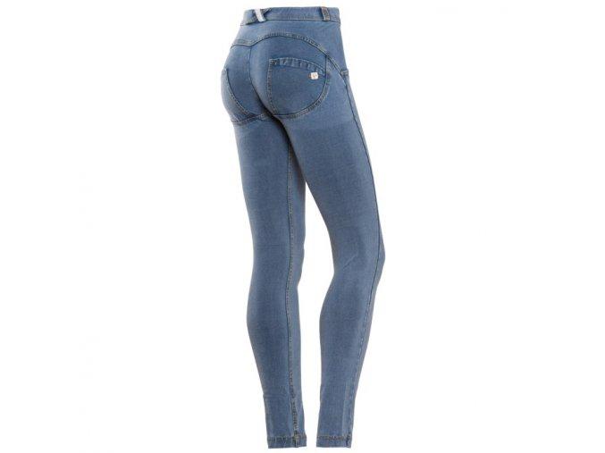 Freddy kalhoty ve světle modré džínové, normální pas
