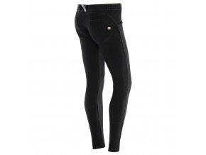 Freddy kalhoty v džínové černé, skinny střih