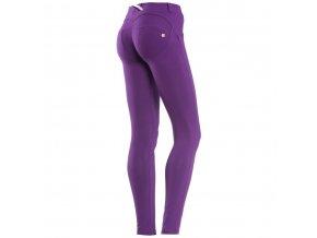Freddy kalhoty světle fialová barva, skinny střih