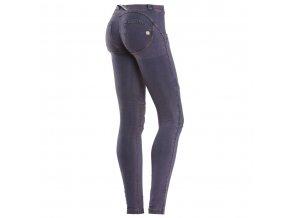Freddy kalhoty v džínové fialové, speciální střih