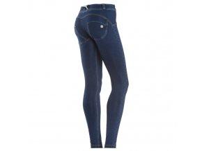 Freddy kalhoty v džínově tmavě modré, normální pas