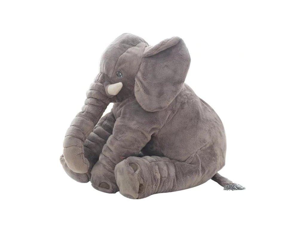 Plyšový Slon - různé barvy