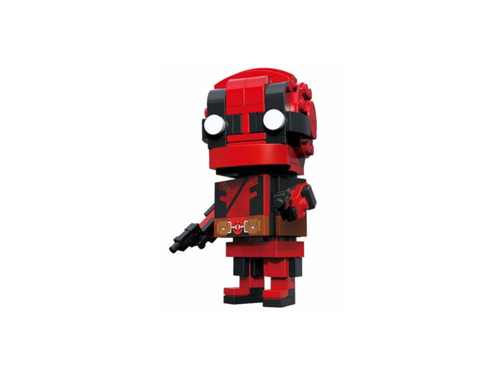 Figurka BrickHeadz - Deadpool