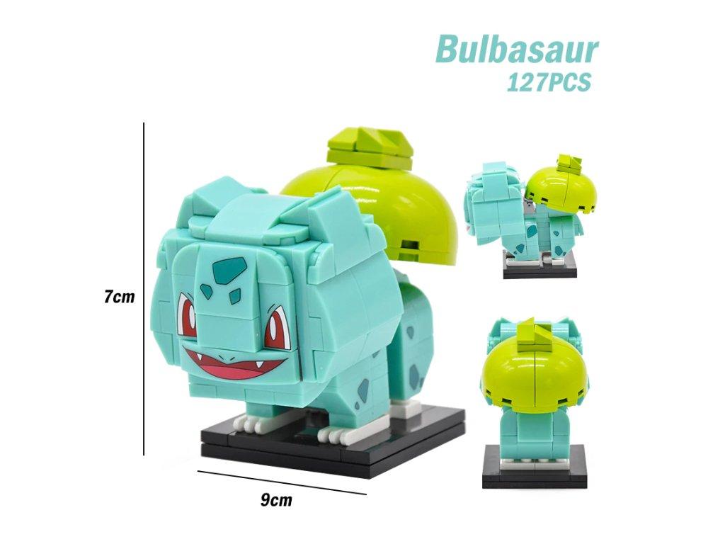 Figurka BrickHeadz - Bulbasaur