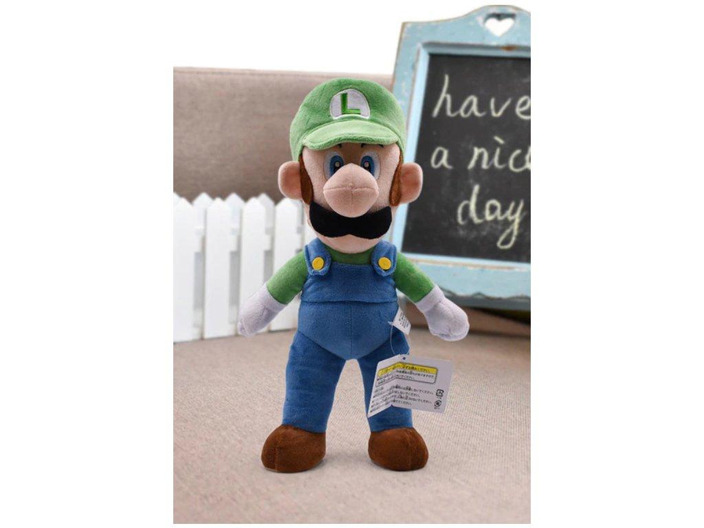 Plyšák Super Mario - Luigi