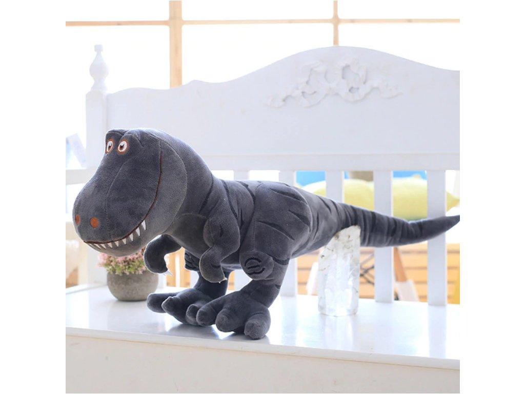 Plyšový Dinosaurus - šedý
