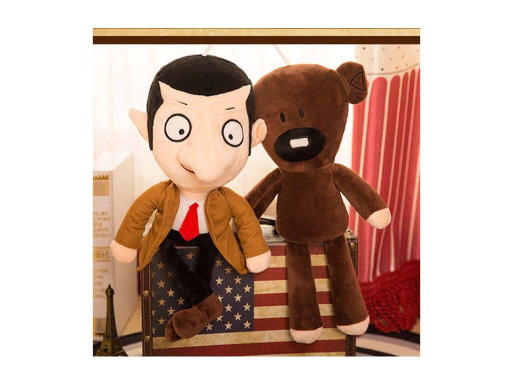 Plyšák Mr. Bean a Medvídek - 30 cm