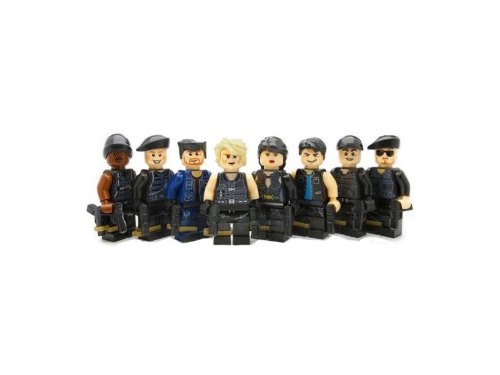 Figurky Swat k Lego 8 ks