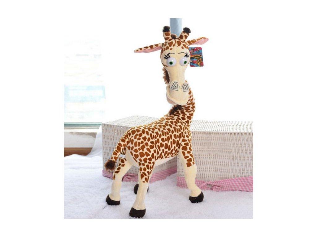 Plyšová žirafa Melman Madagaskar