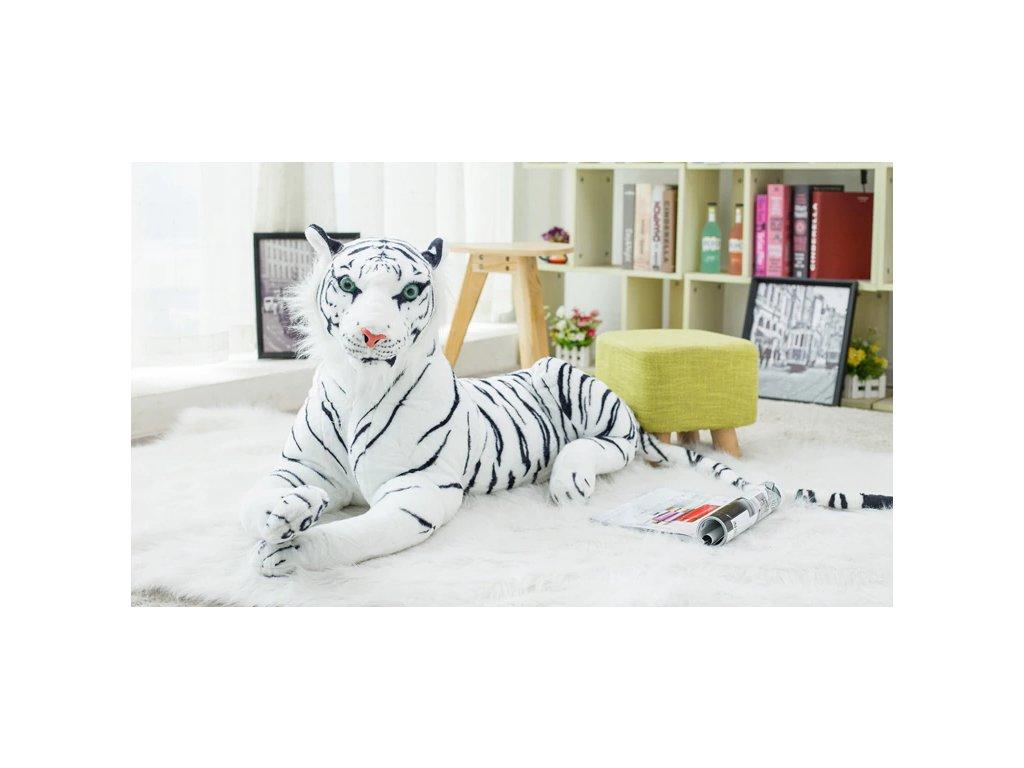 Plyšák - Tygr bílý