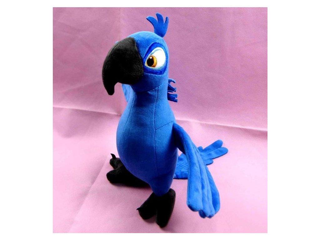Plyšák - Papoušek Blue