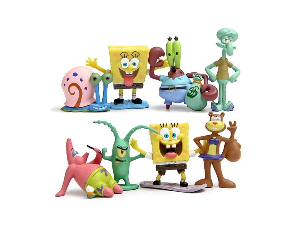 Figurky Spongebob 8 ks