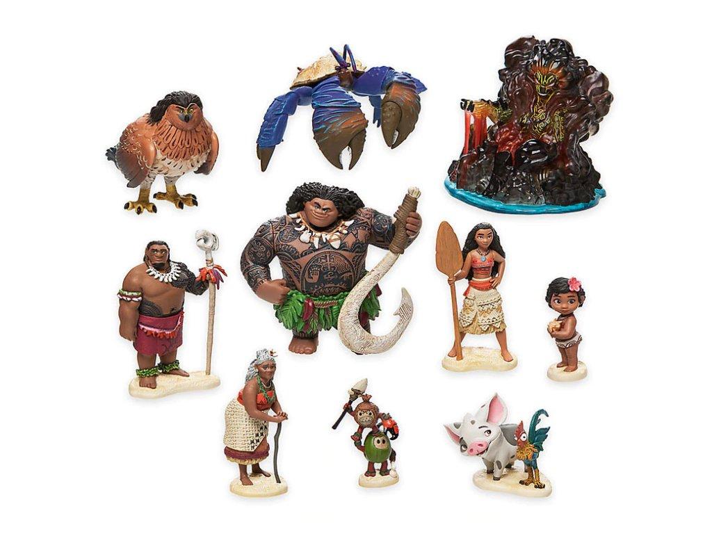 Figurky Odvážná Vaiana 10 ks