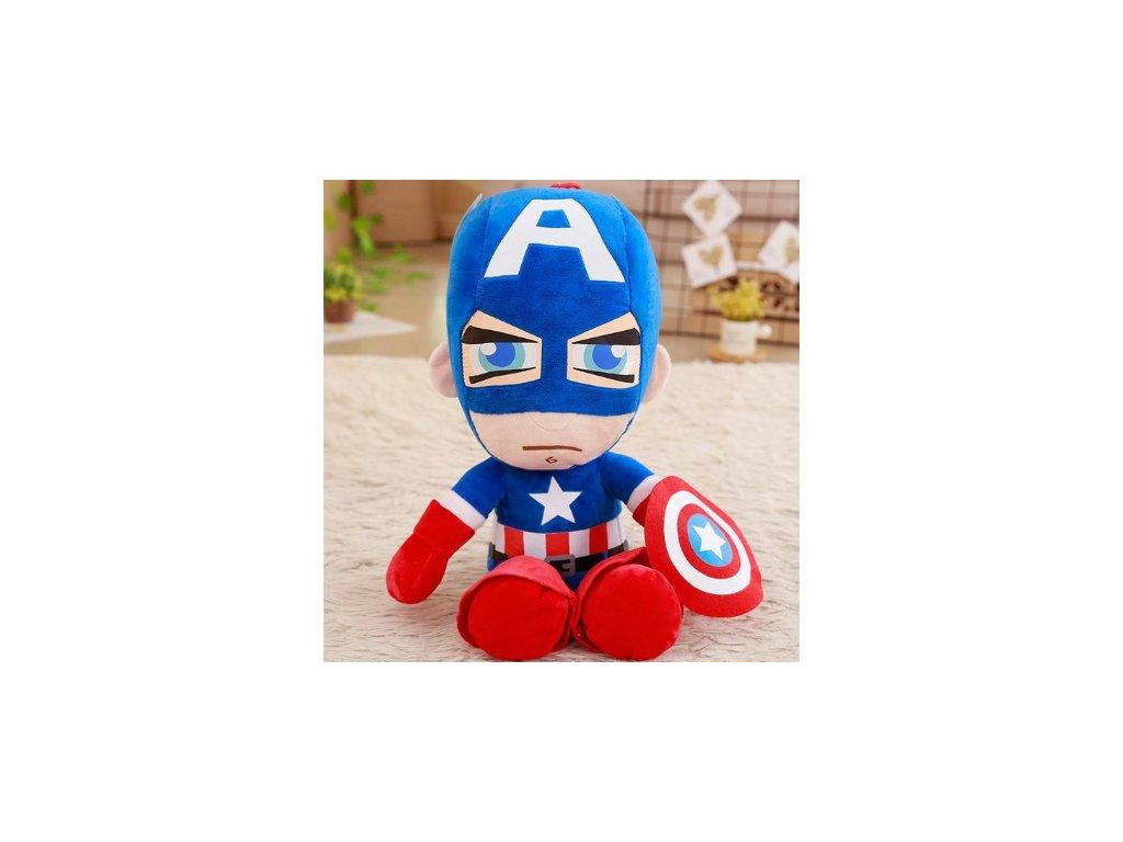 Plyšák Kapitán Amerika