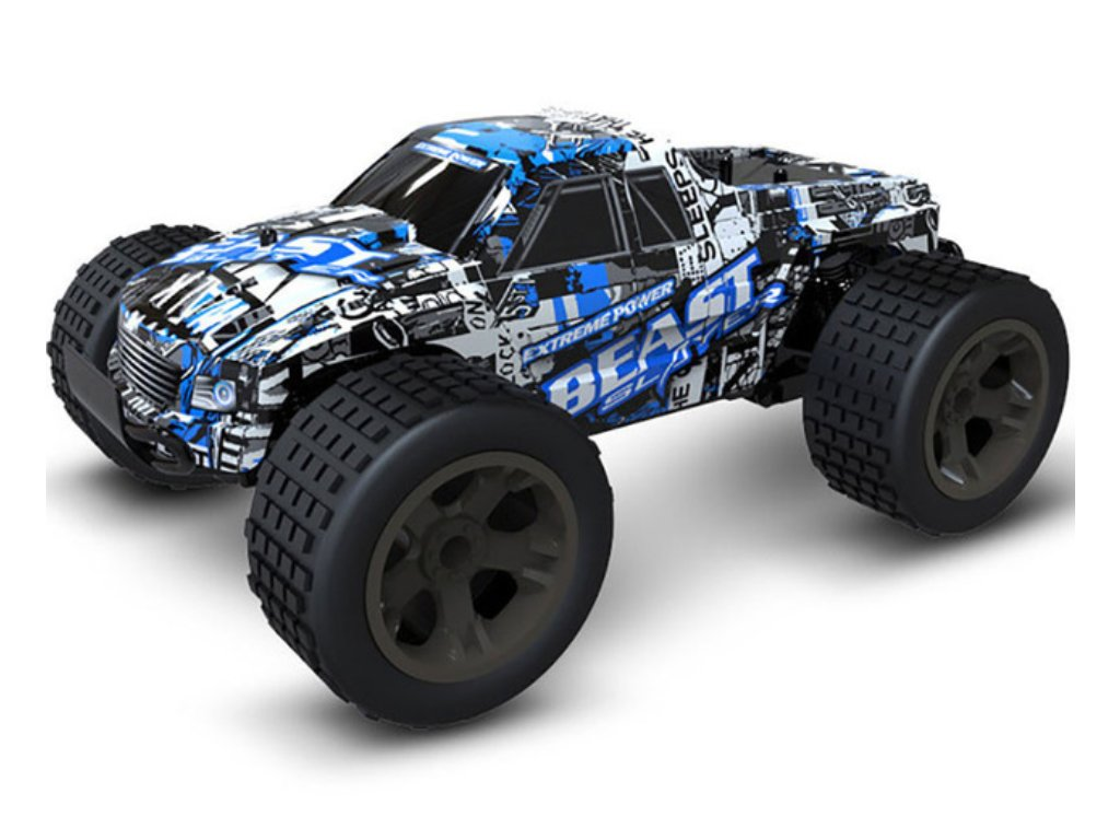 RC Monster Truck - modrý