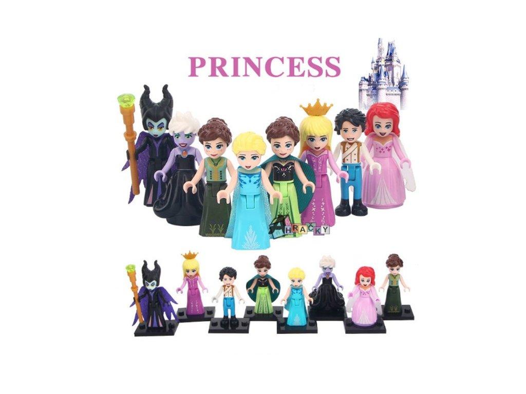 Figurky Princezny k Lego 8 ks