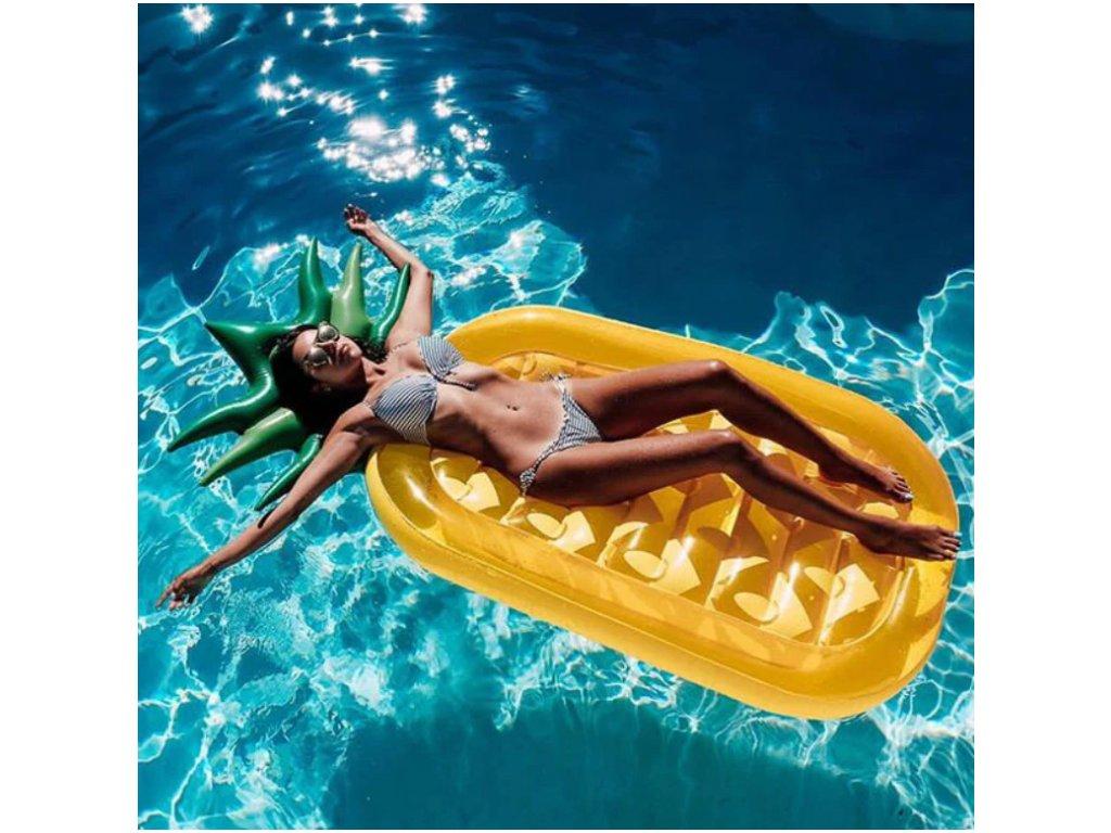 Nafukovací lehátko - Ananas