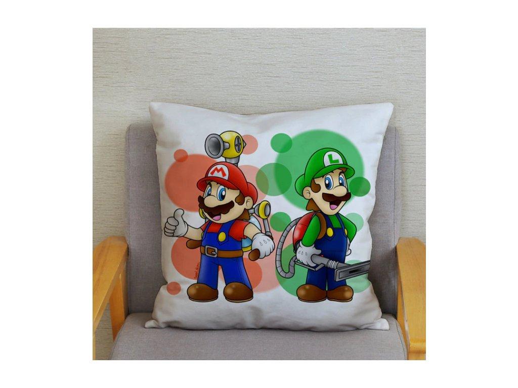 Super Mario - povlak na polštář