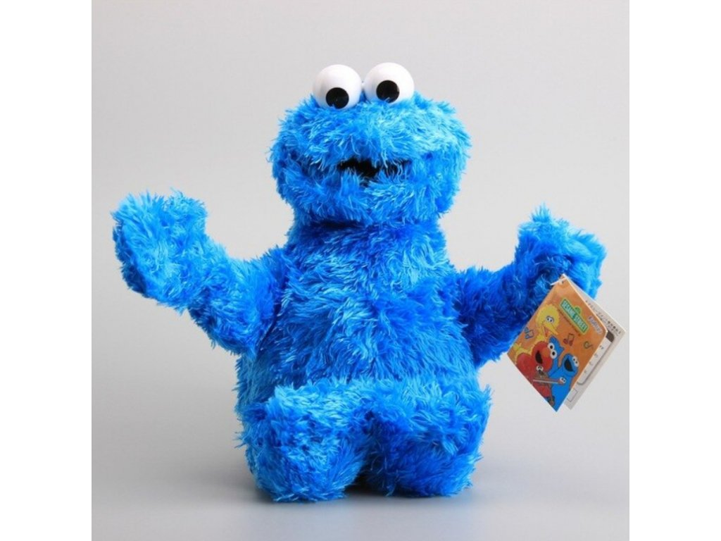 Plyšák - Sezame, otevři se - Cookie Monster