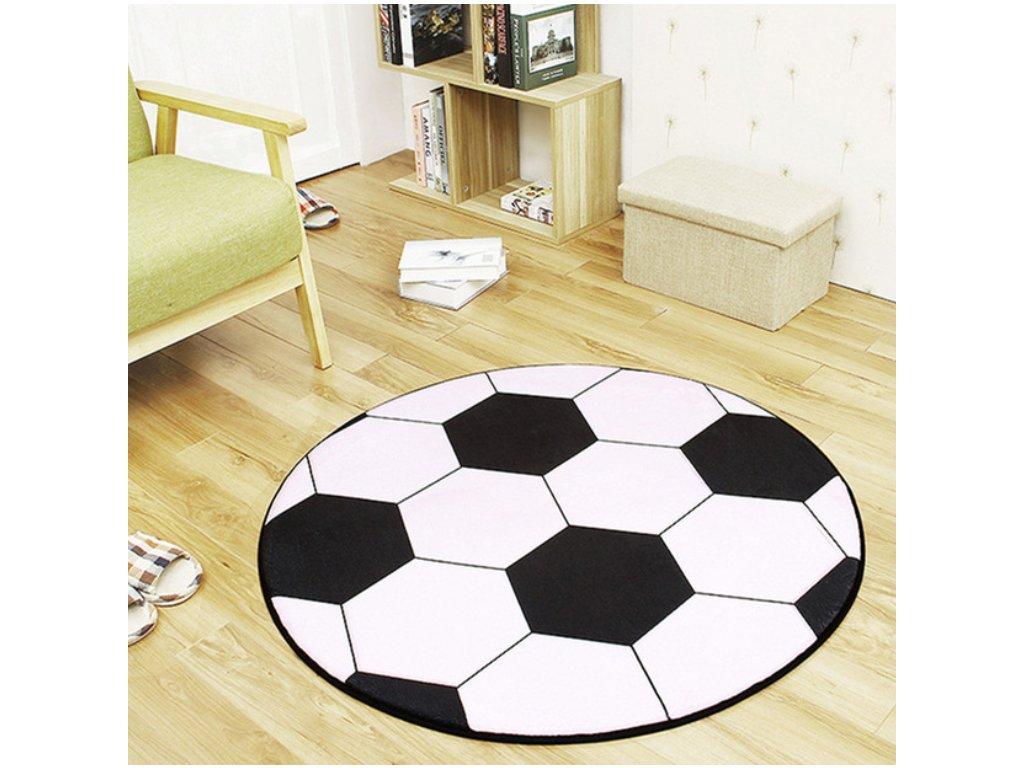 Dětský koberec - fotbalový míč