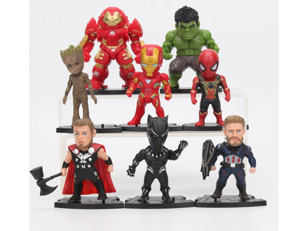 Set figurek Avengers 8ks